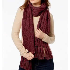 Michael Kors Cable Knit Scarf